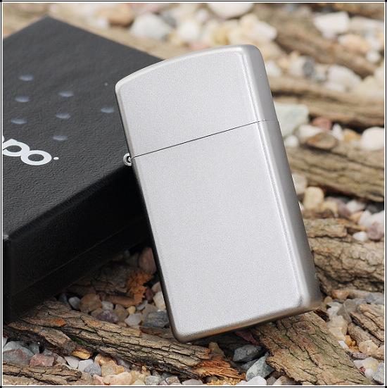 Zippo 1605 - Zippo Slim Satin Chrome 3