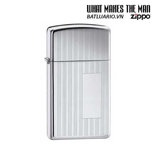 Zippo 1615 - Zippo Slim Ribbon High Polish Chrome