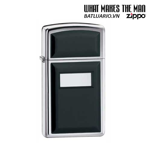 Zippo 1655 - Zippo Emblem Slim High Polish Chrome