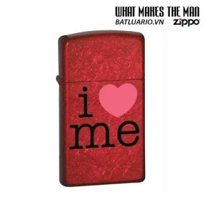 Zippo 24352 - Zippo I LOVE ME Candy Apple Red