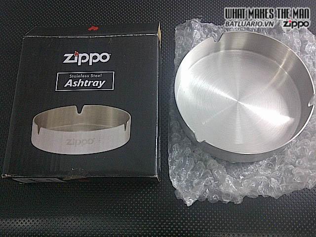Gạt tàn thép Zippo cao cấp - 121512