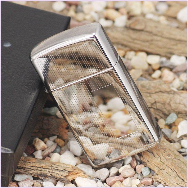 Zippo 1615 - Zippo Slim Ribbon High Polish Chrome 3