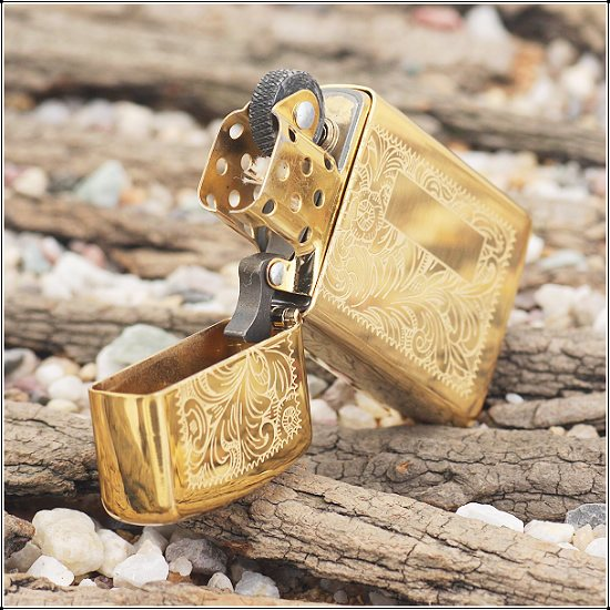 Zippo 1652B - Zippo Slim Venetian Brass 2