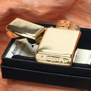 Zippo 1654 - Zippo Slim High Polish Brass Engraved 3