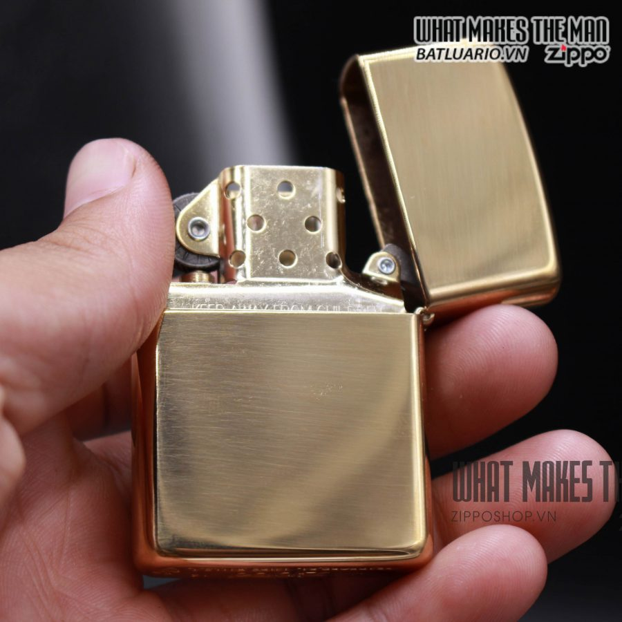 Zippo 169 - Zippo Armor High Polished Brass