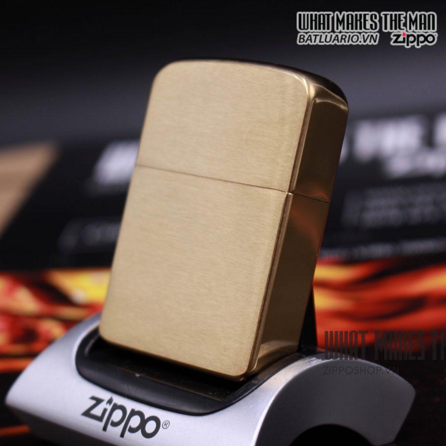 Zippo 1941B - Zippo 1941 Replica Brushed Brass