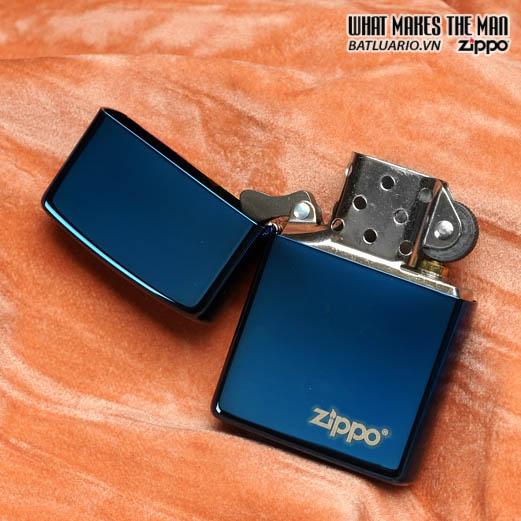 Zippo 20446ZL - Zippo Sapphire Zippo Logo