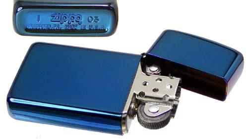 Zippo 20494 - Zippo Slim Sapphire 2