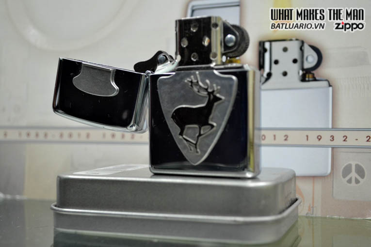 Zippo 21196 - Zippo Trophy Buck Emblem
