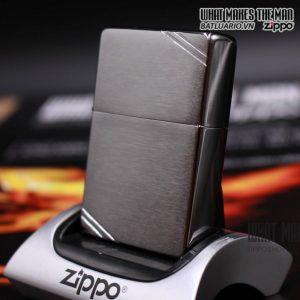 Zippo 230 - Zippo Vintage Brushed Chrome