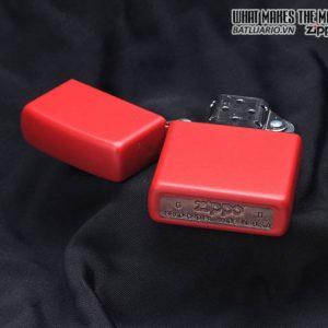 Zippo 233 - Zippo Red Matte