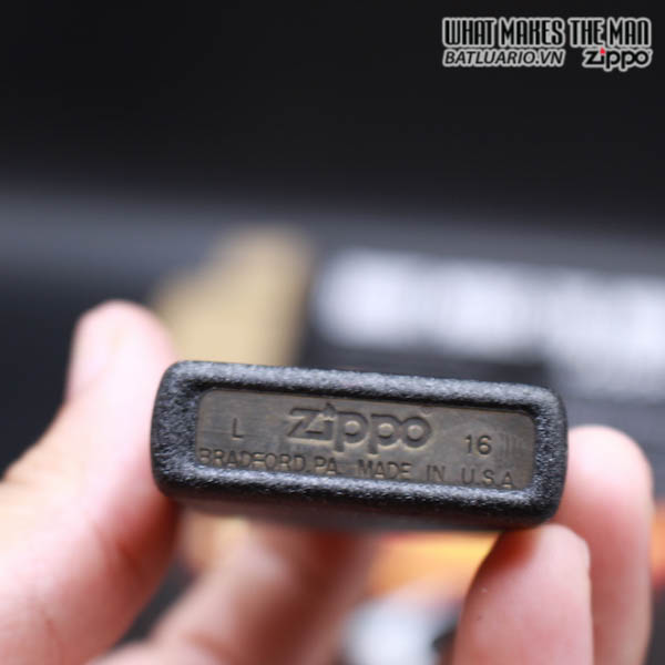Zippo 236 - Zippo Black Crackle