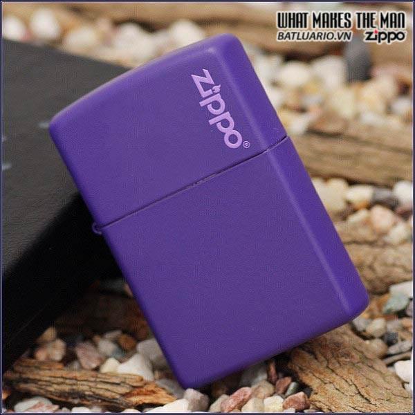 Zippo 237ZL - Zippo Purple Matte with Logo