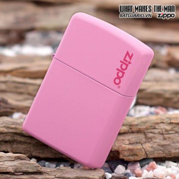 Zippo 238ZL - Zippo Pink Matte with Logo