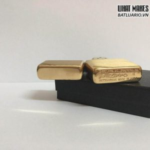 Zippo 240 - Zippo Vintage Brushed Brass
