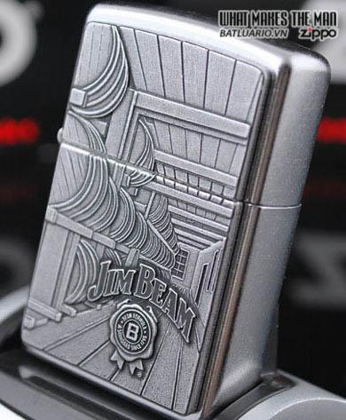 Zippo 24442 - Zippo Jim Beam Barrels Emblem