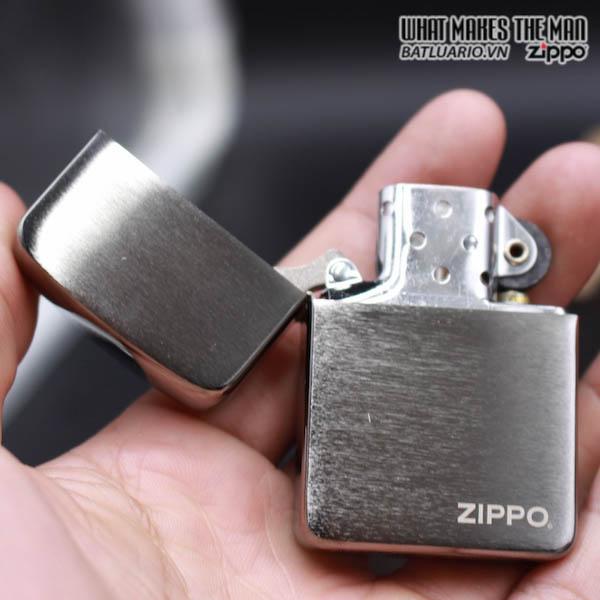 Zippo 24485 - Zippo Replica 1941 Black Ice with Zippo Logo