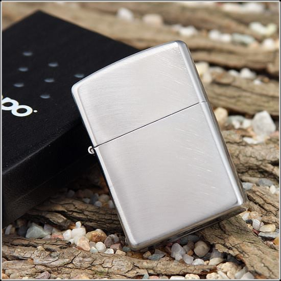 ZIPPO 24647 – ZIPPO CHROME ARCH BRUSHED CHROME 3