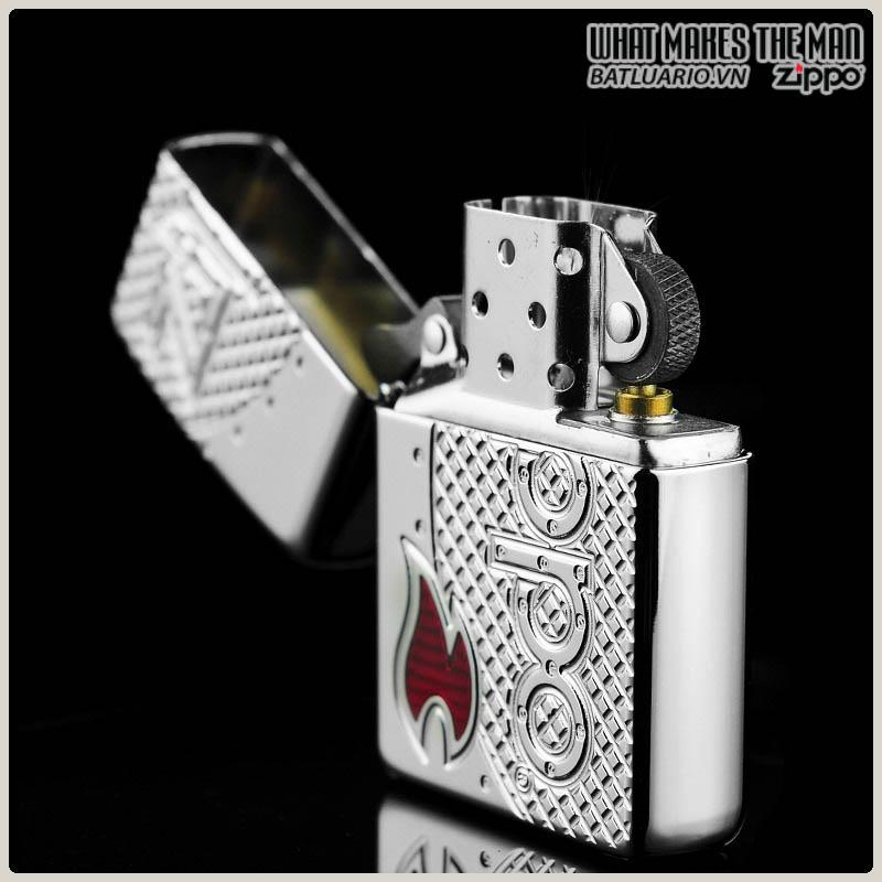 Zippo 24801 - Zippo Flame Emblem Armor
