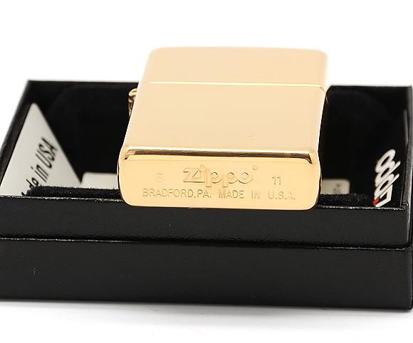Zippo 254 - Zippo High Polish Brass Engraved