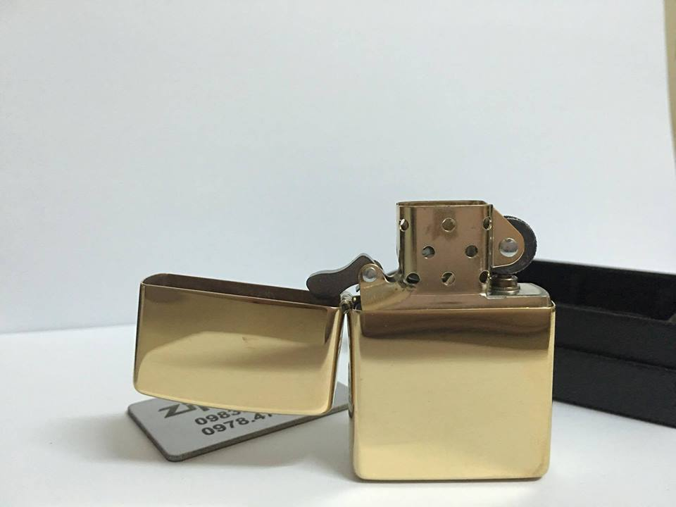 ZIPPO 254B – ZIPPO HIGH POLISHED BRASS