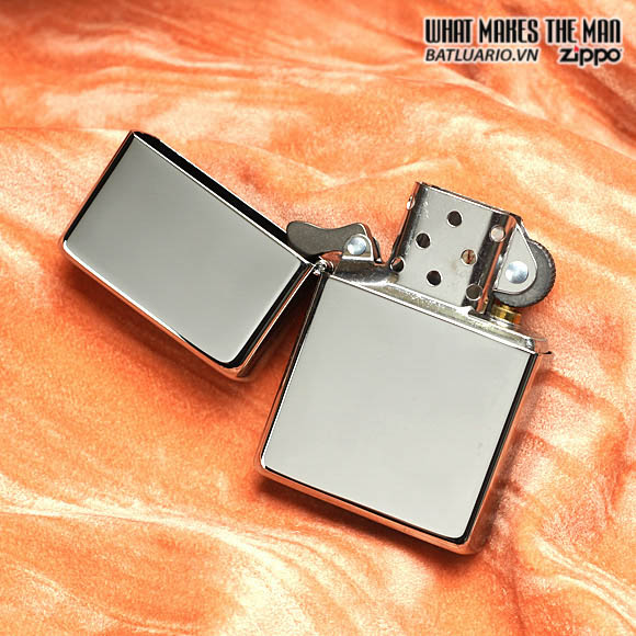 Zippo 260.25 - Zippo Vintage High Polished Chrome (No slashes)
