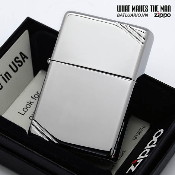 Zippo 260 - Zippo Vintage High Polished Chrome