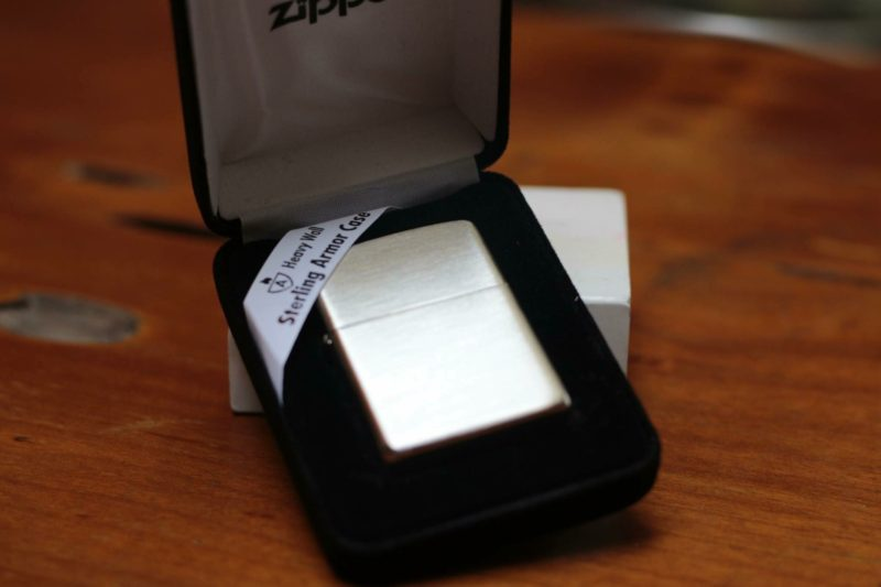 Zippo 27 - Zippo Armor Brushed Sterling Silver 4