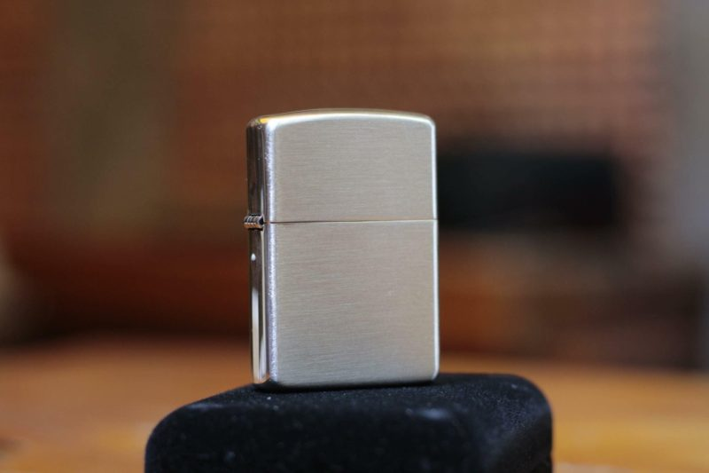 Zippo 27 - Zippo Armor Brushed Sterling Silver 5