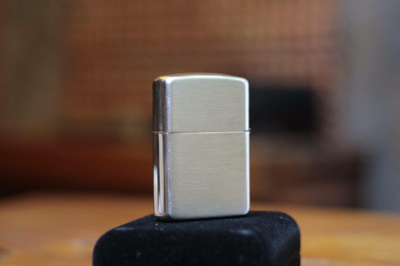 Zippo 27 - Zippo Armor Brushed Sterling Silver 8