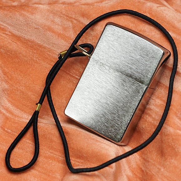 ZIPPO 275 - ZIPPO LOSSPROOF WITH LOOP & LANYARD BRUSHED CHROME 3