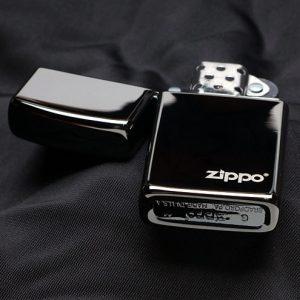 Zippo 28123ZL - Zippo Slim Ebony with Zippo Logo 3