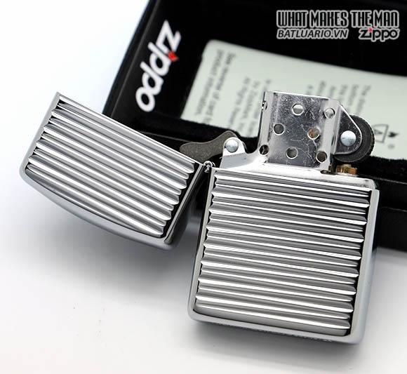 Zippo 28639 - Zippo Armor Engine Turn Horizontal