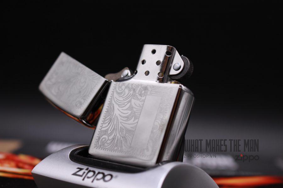 Zippo 352 - Zippo Venetian Chrome 8