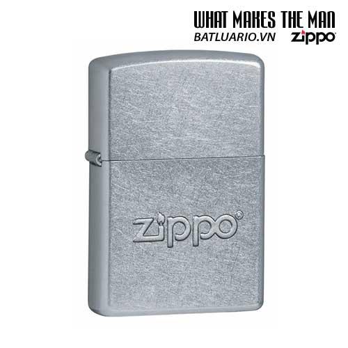 Zippo 21193 - Zippo Stamped Street Chrome