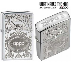 Zippo 24751 - Zippo Crown Stamp with American Classic Lighter
