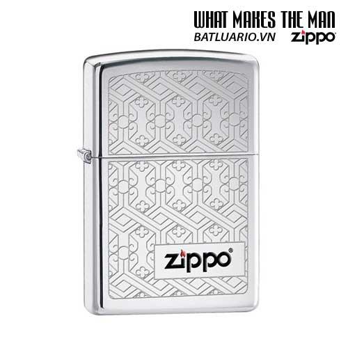 Zippo 24763 - Zippo Venetian Filigree High Polish Chrome