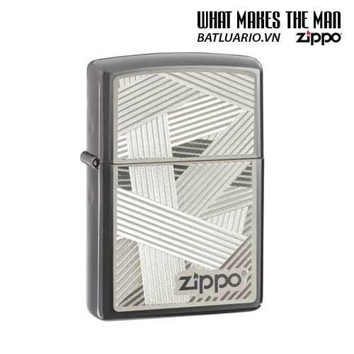 Zippo 24943 - Zippo Weave Black Ice