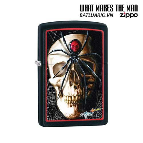 Zippo 28627 - Zippo Mazzi Spider And Skullblack