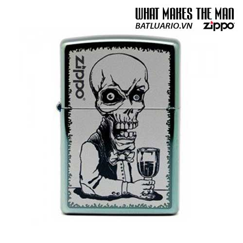 Zippo 28679 - Zippo Classic Skeleton Bartender Chameleon Windproof Pocket