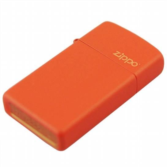 Zippo 1631ZL - Zippo Slim Orange Matte 1