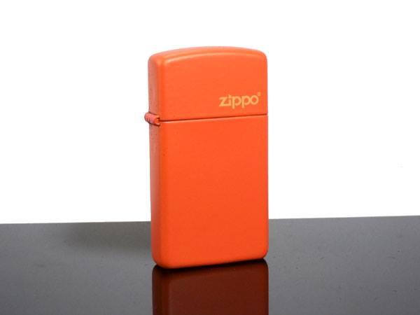 Zippo 1631ZL - Zippo Slim Orange Matte 2