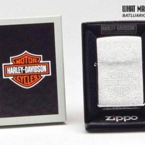 Zippo 200HD.H199 – Zippo Harley Davidson Logo Brushed Chrome
