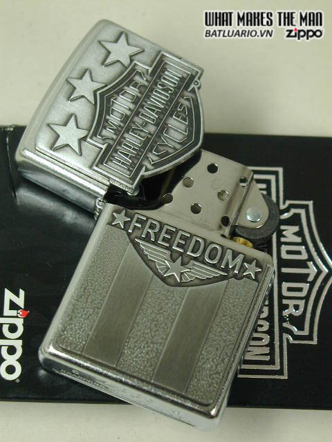 Zippo 20585 – Zippo Harley Davidson Freedom Emblem