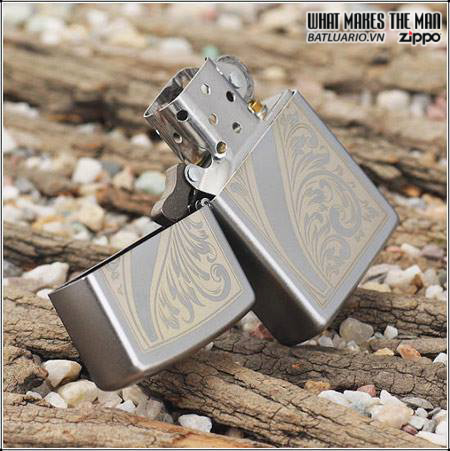 Zippo 21139 – Zippo Scrolled Feather