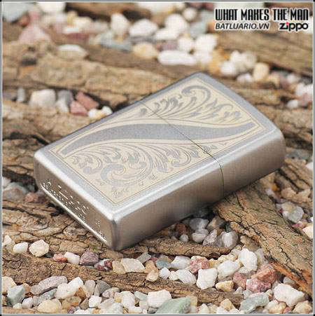 Zippo 21139 – Zippo Scrolled Feather 2