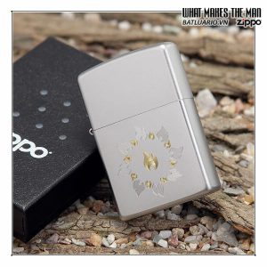 Zippo 21192 – Zippo Ring of Fire Satin Chrome