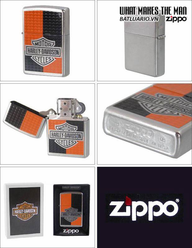 Zippo 24030 – Zippo Harley Davidson Deco Street Chrome