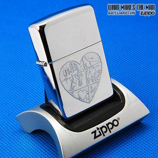 Zippo 24198 – Zippo For the Love of Chrome