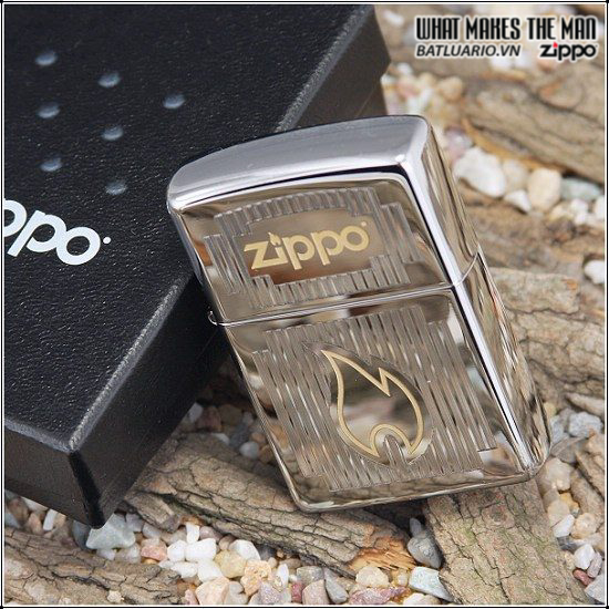 Zippo 24206 – Zippo Chrome Visions High Polish Chrome 2